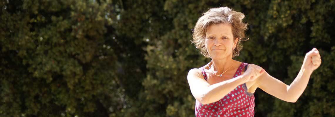 Christine Marguier, Danseuse Energéticienne