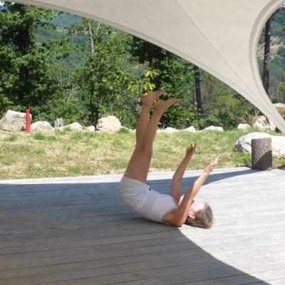photo danse thérapie au domaine du Taillé