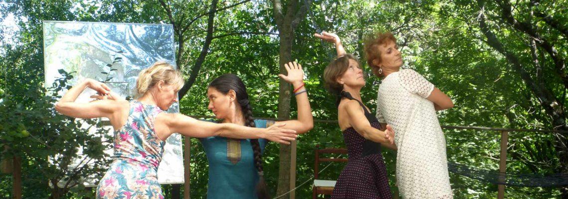 Ateliers de Danse créative et Danse Thérapie :                                  se ressourcer, improviser