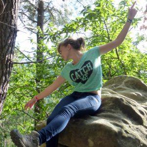 danse sur un rocher